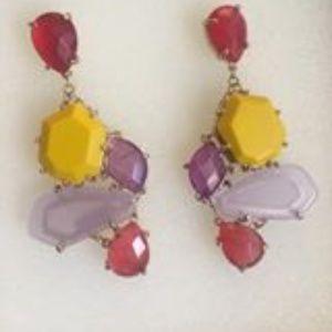 Lauren lilac mustard yellow purple red agate